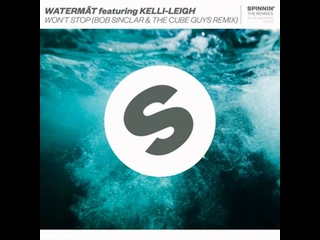 Won't Stop (feat. Kelli-Leigh) (Bob Sinclar & The Cube Guys Extended Remix)