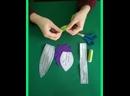 Букет тюльпанов из текстиля. Мастер-класс по изготовлению тюльпана из текстиля.