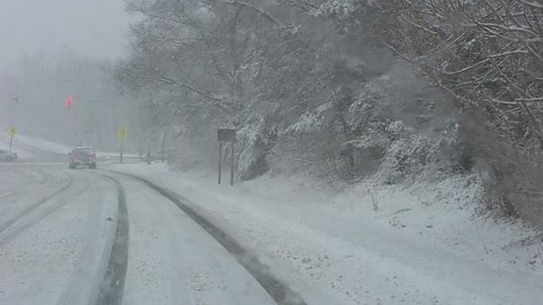 Сильные дожди со снегом ожидаются в Крыму в ближайшие два дня