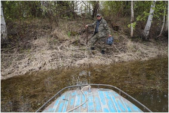 Участие в акции «Чистый берег» государственного природного комплексного заказника «Сургутский»., изображение №3