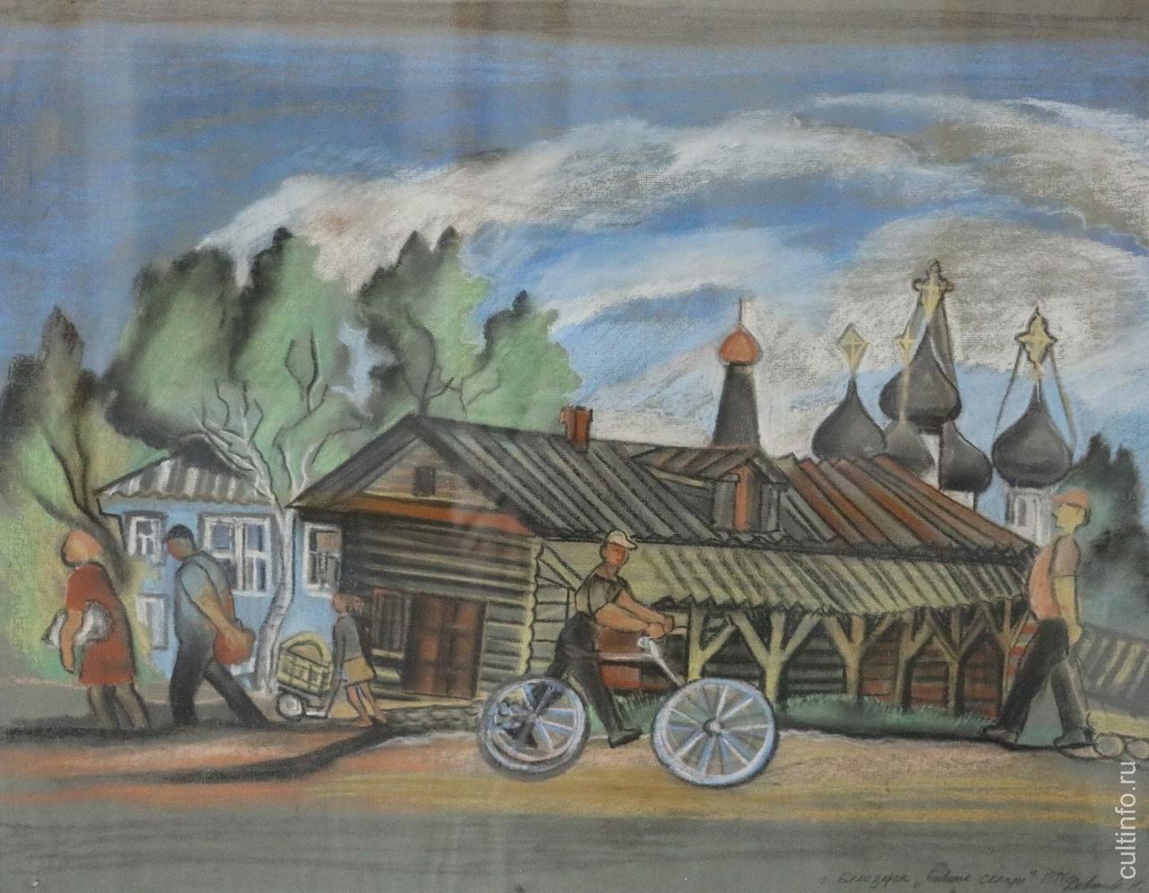 Надежда Девишева. Белозерск. Бывшие склады. 1987