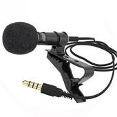Микрофон-петличка с выходом 3,5 mm