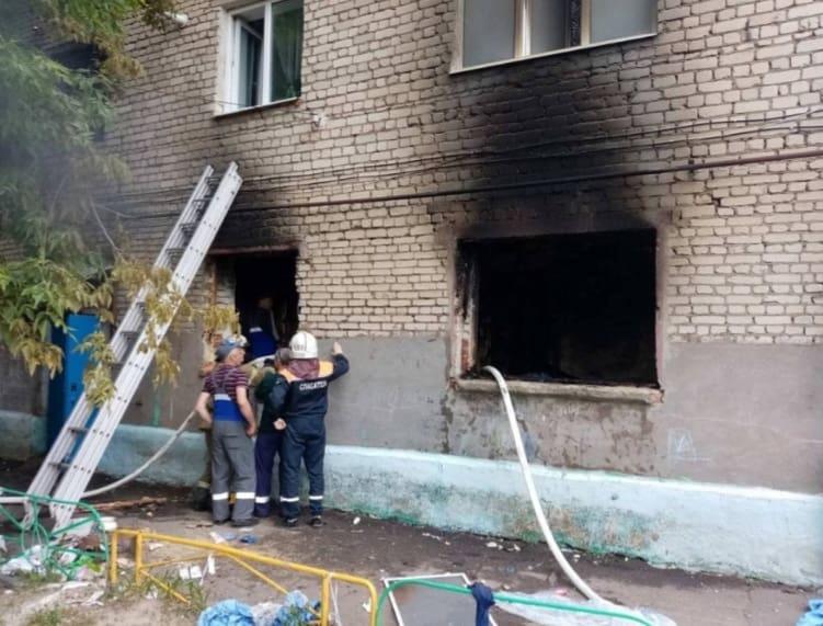 В жилом доме в Ртищеве взорвался газ
