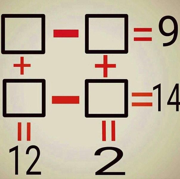 #СызраньКакие числа спрятаны в квадратах?...