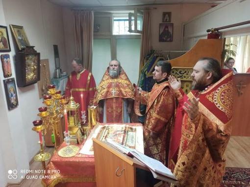 Престольный праздник в Лукашах