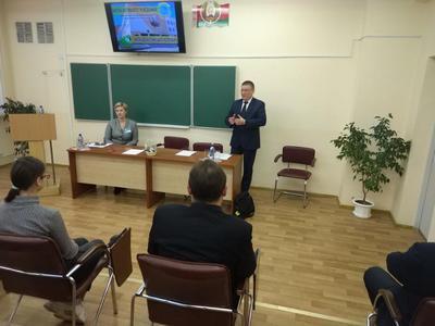 Михаил Малашенко встретился с витебскими школьниками в рамках ШАГ