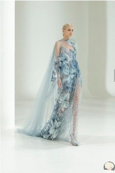 Бутоны надежд: коллекция Elie Saab Couture осень-зима 2021/2022