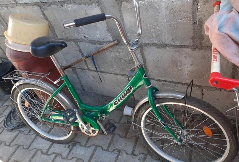 Велосипед, складывается. Состояние | Объявления Орска и Новотроицка №28076