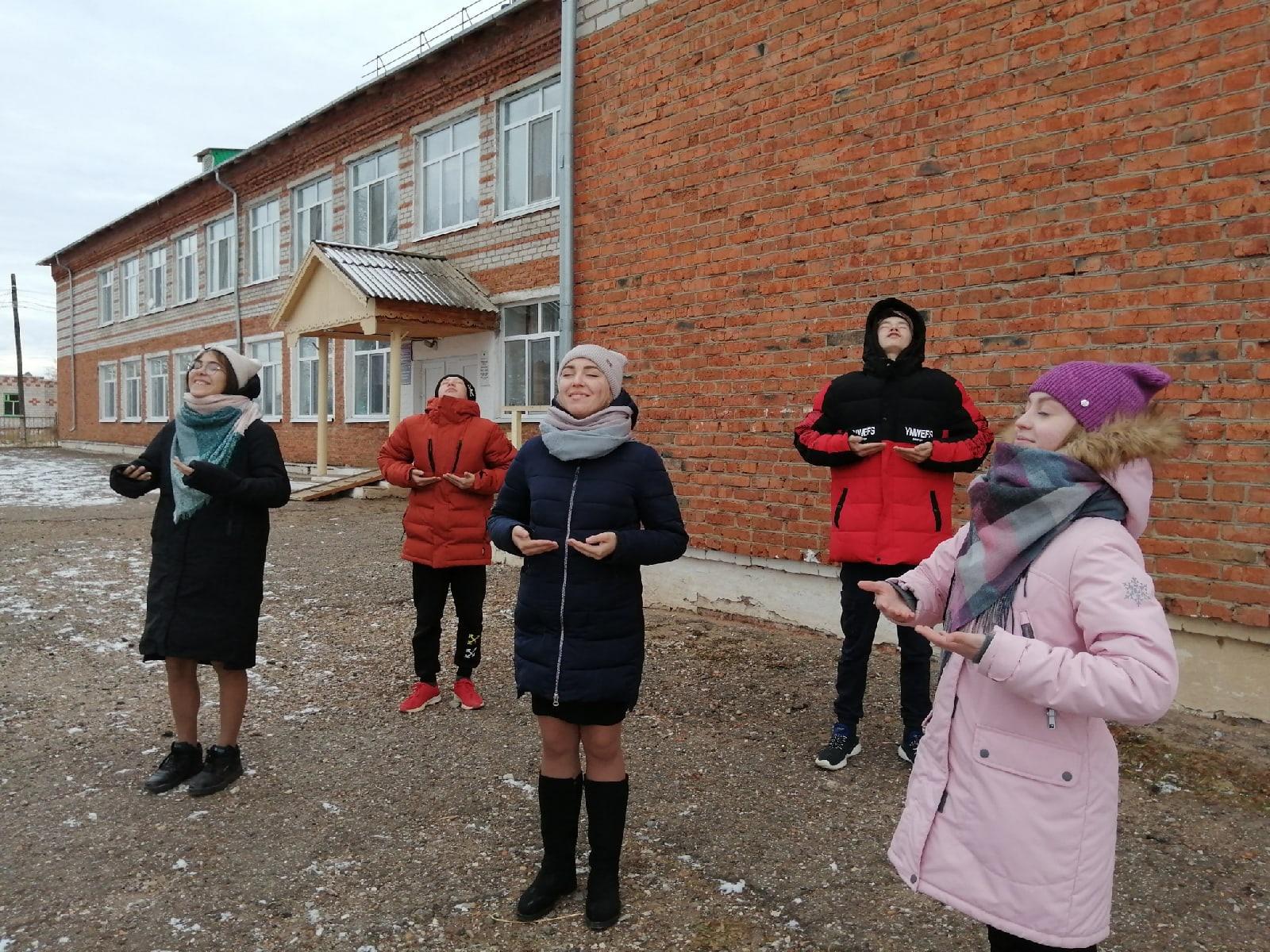 ✨20 ноября в Русско-Сюгаильской школе прошла акция