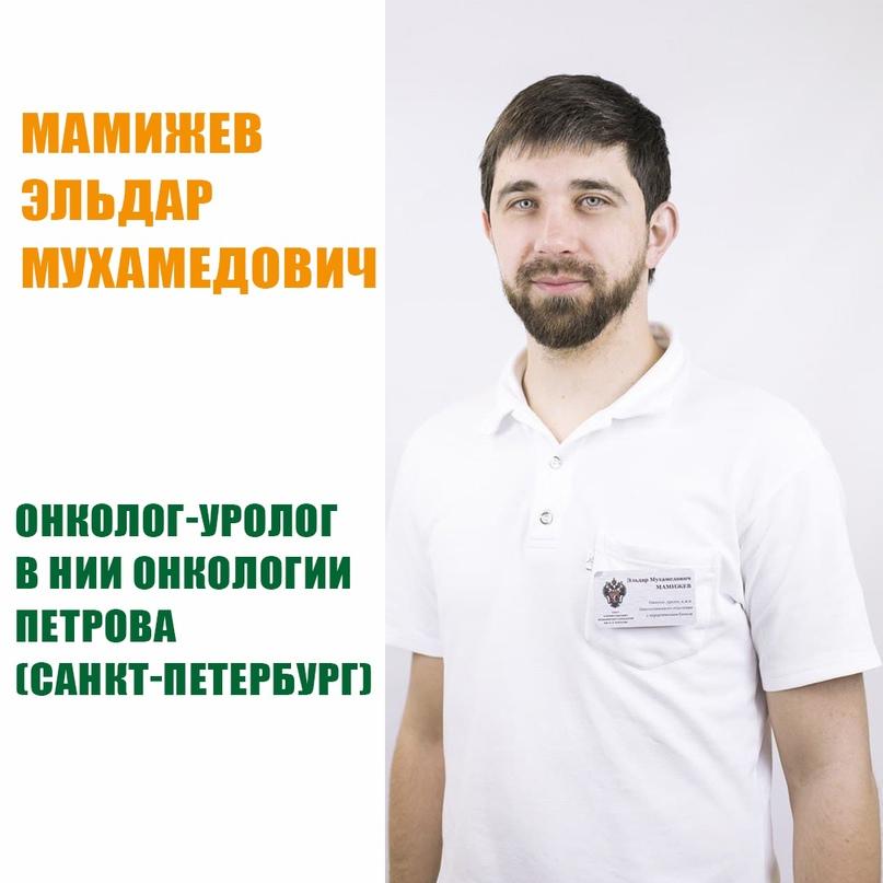 Мамижев Эльдар Мухамедович, 34 г. - Врач-онколог, уролог, кандидат медицинских н...