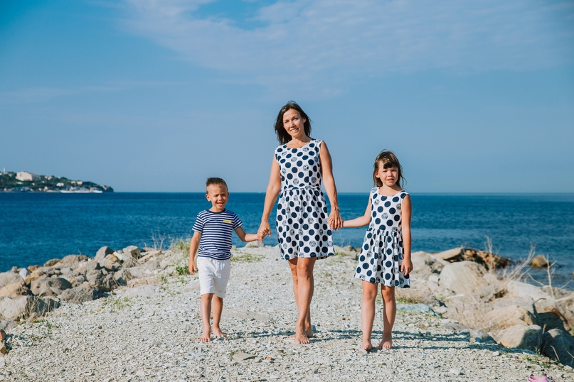 Семейная фотосессия в Кабардинке - Фотограф MaryVish.ru