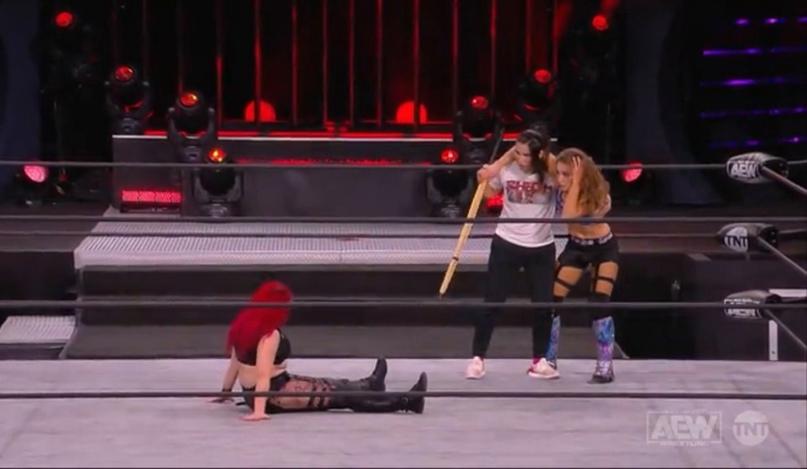 AEW Dynamite и WWE NXT 09.12.20, изображение №8