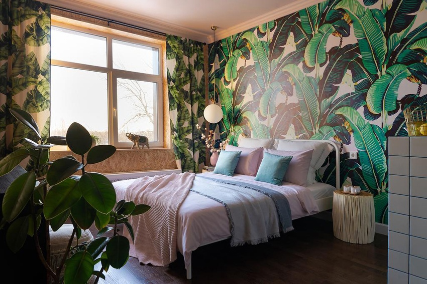 Интерьер гостевой квартиры 28 м в Санкт-Петербурге.