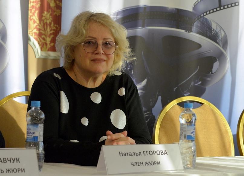 Член жюри кинофестиваля актриса Наталья Егорова
