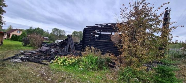 При пожаре в Ярославской области погиб мужчина