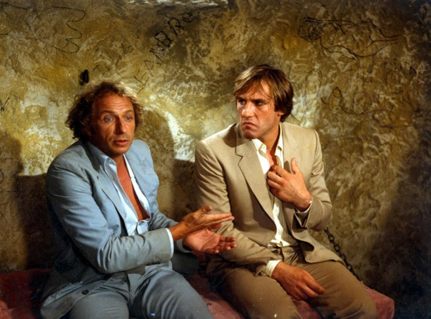 Пьер Ришар и Жерар Депардье Невезучие (1981), Папаши (1983), Беглецы (1986).