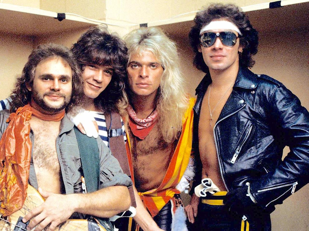 Группа Van Halen с треком And The Cradle Will Rock... (альбом Women And Children...