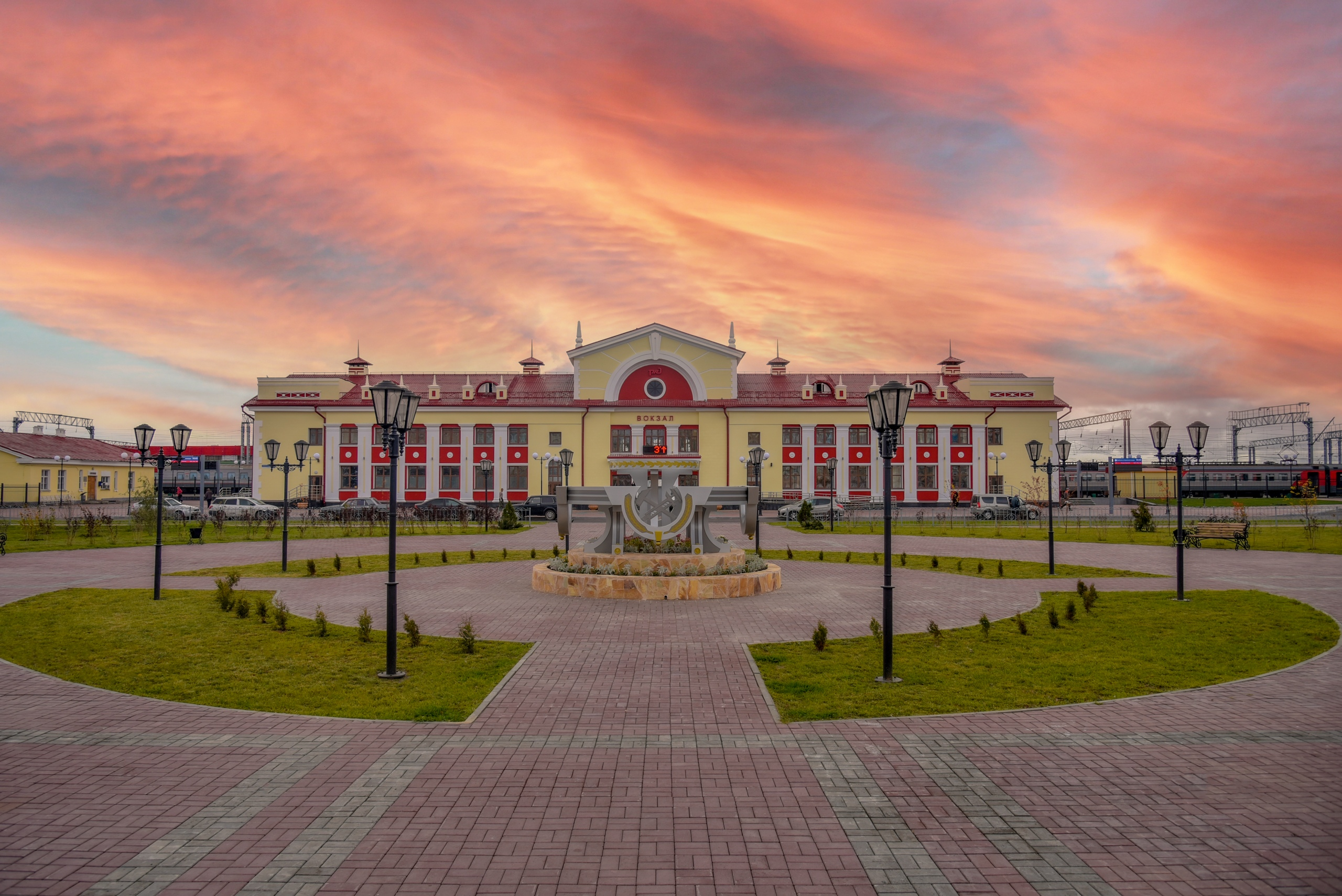 вокзалы россии