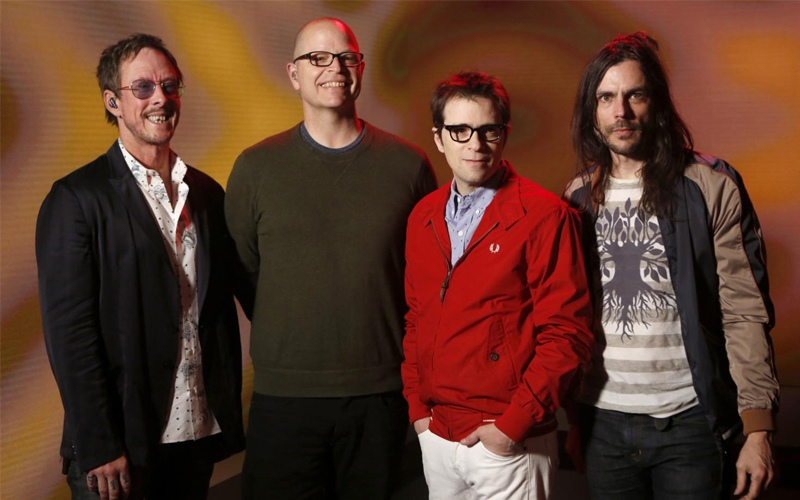 Weezer ''Grapes Of Wrath''