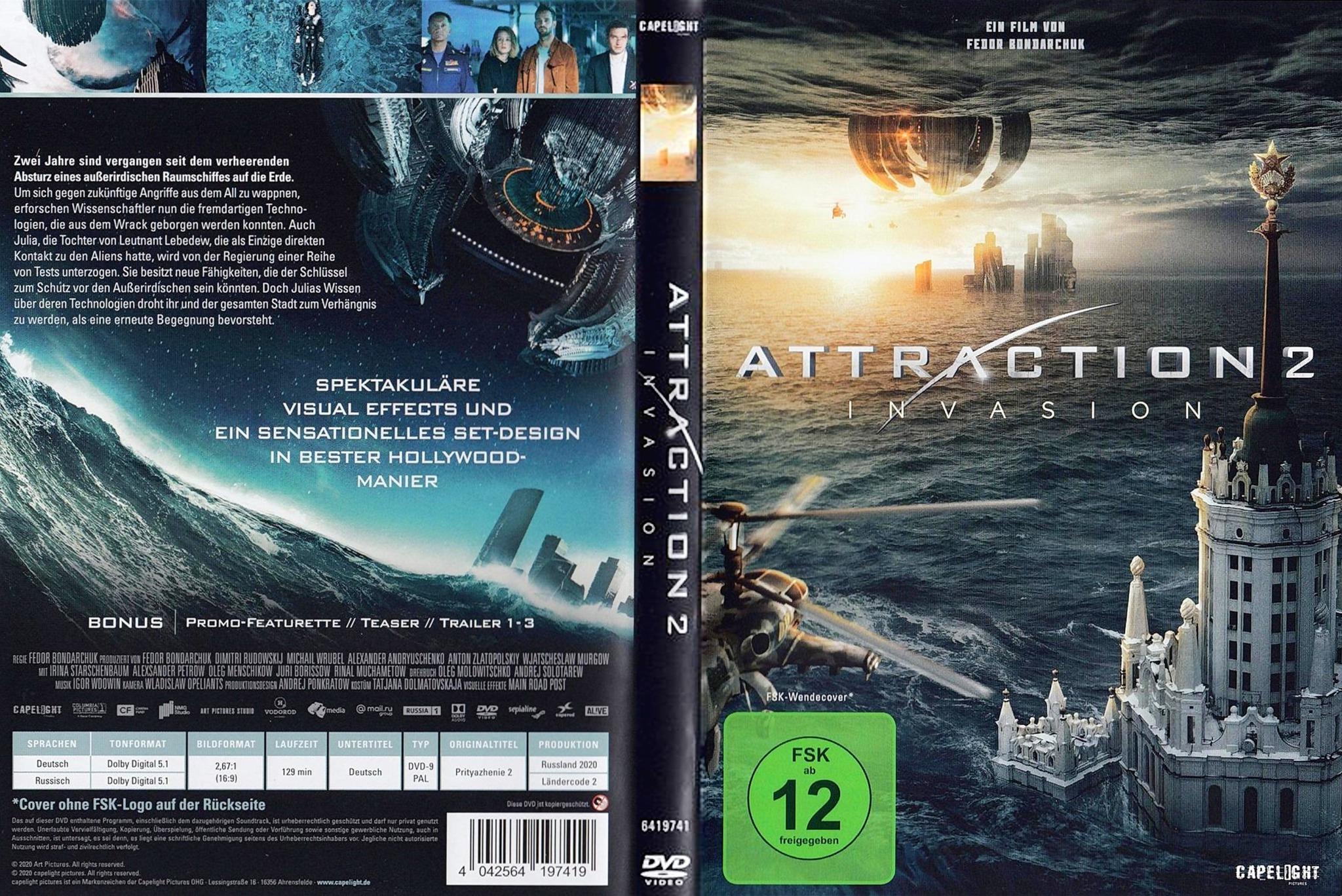 Attraction 2 Invasion 2020 Todo Sobre Cine