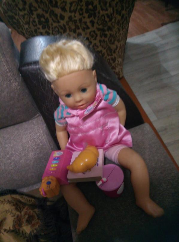 Кукла говорящая, идёт в комплекте с | Объявления Орска и Новотроицка №16695
