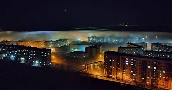 Пока в Норильске наблюдают за северным сиянием, Та...