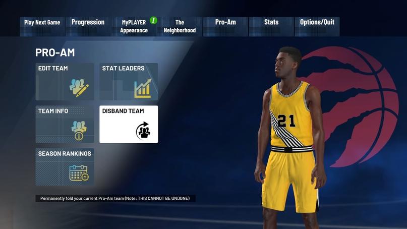 Как добавить друга в команду Pro-Am в NBA 2K21, изображение №10