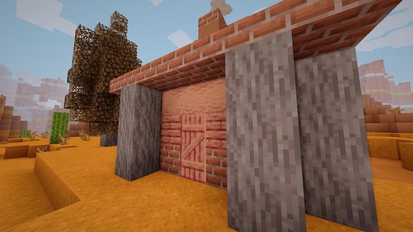 Ствол и дверь из красного кедра.