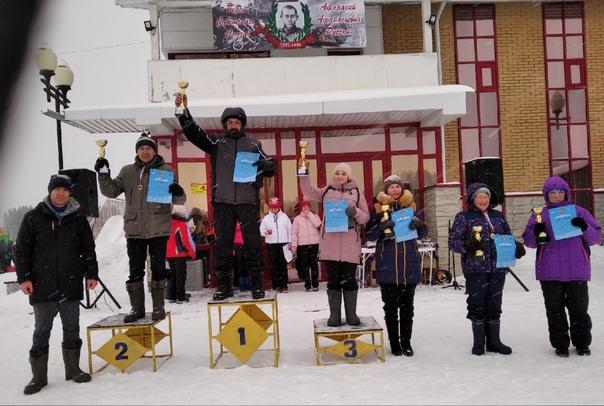 УРА! УРА! УРА!💥С лыжных гонок🎿, посвященных памяти