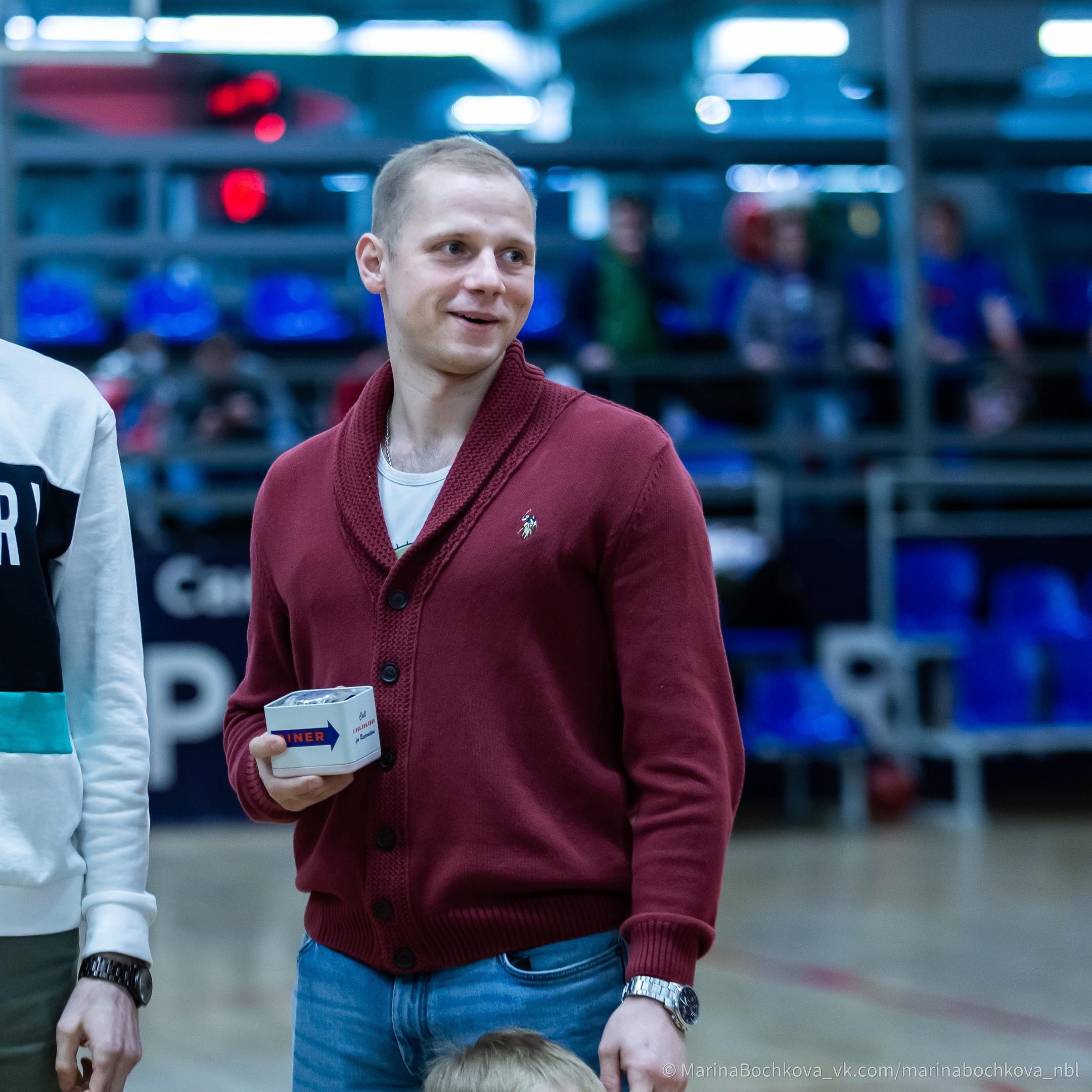 Алексей Тетнев, самый полезный игрок Второго Дивизиона сезона 2020-2021