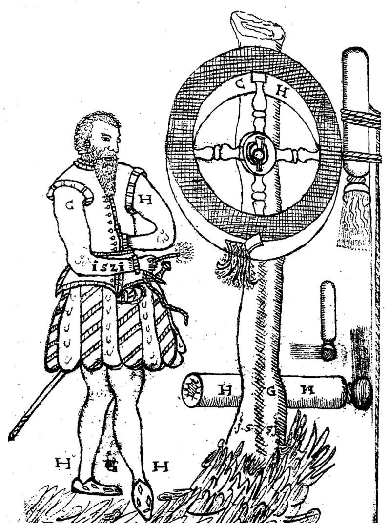 Ракеты XVI века: пилотируемые, многоступенчатые и с соплами, изображение №17