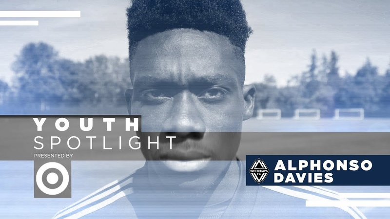 Alphonso Davies Blink and you miss him