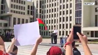 «Я стою перед вами на коленях»  главное из обращения Лукашенко к сторонникам в М