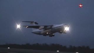 Командирские полеты военно-транспортной авиации под Тверью
