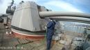 Очистка корпуса судна. цгтночисткаметаллапескоструйнапылениецинкованиеsandblasting