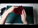 Подарок на день Влюбленных. Идея на 14 февраля. Роза формы сердца из бумаги с конфетой.