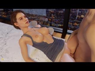(Sound)Jill Valentine sex ver.2 [Resident Evil;Porn;Hentai;Big tits;Ass;R34;Blender;порно;секс]