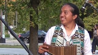 Индейцы просто поразили! Наверное такая музыка звучит в раю CON TE PARTIRÓ~ Sumac Kuyllur | Cover