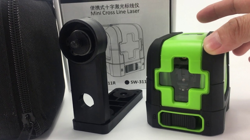 Sndway laser level 2 cross line Green Red beam