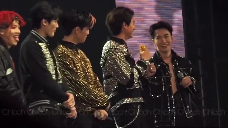 рус суб Болтология 4 Be My Boyfriends Concert 19 12 20 fancam