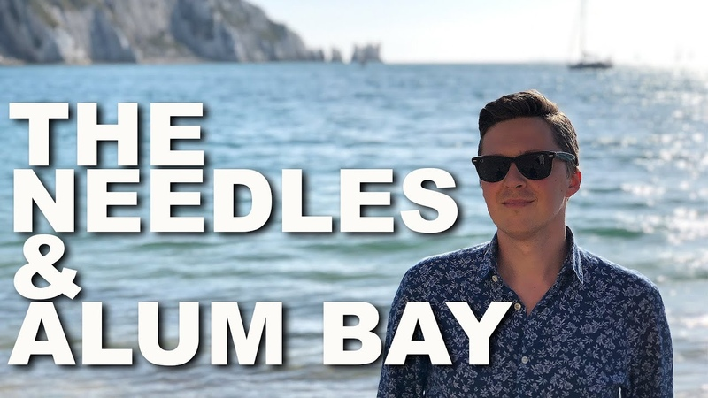 The Needles and Alum Bay on The Isle of Wight