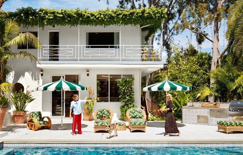 #В_гостях_у_звезды: дом Кары и Поппи Делевинь в Лос-Анджелесе