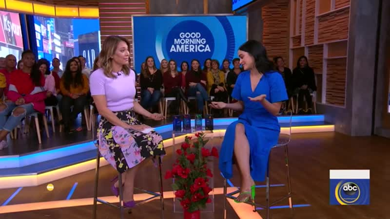 Компании ›› Secret | Камила Мендес в рекламной рубрике программы Good Morning America;
