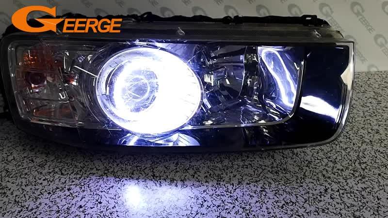 For Chevrolet Captiva 2012 2013 2014 2015 2016 Excellent angel eyes Ultra bright illumination COB led angel eyes kit