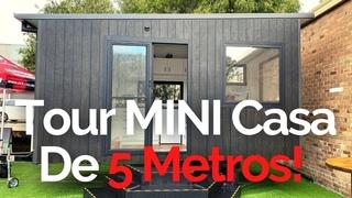 TOUR MINI CASA De 5 Metros! 🏡😍🌎 - TINY HOUSE Y MINIMALISMO