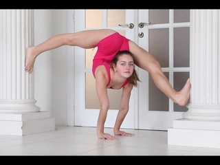 New video, incredibly flexible girls, Super contortionist, Contortion training
