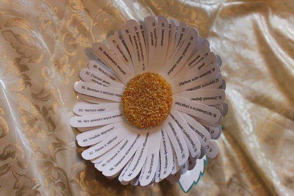 Цветок в подарок с сотней пожеланий.