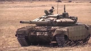 Первое применение танков Т-72Б3М танкистами ЦВО на Южном Урале