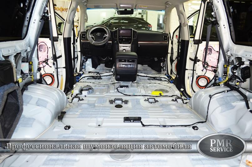 Комплексная шумоизоляция Toyota Land Cruiser 200, изображение №16