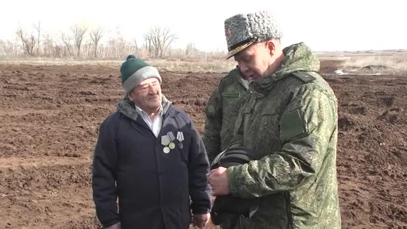 Ветеран за штурвалом танка.
